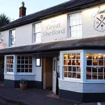 photo of the great shefford restaurant