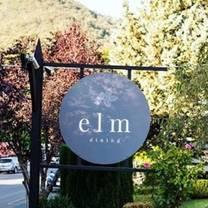 photo of elm dining restaurant