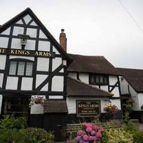 photo of the kings arms restaurant