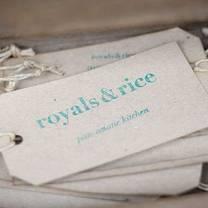 foto von royals & rice münster restaurant