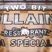 photo of two-bit villains restaurant
