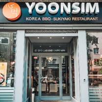 photo of yoonsim bbq - sukiyaki restaurant restaurant