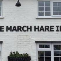 photo of the march hare inn restaurant