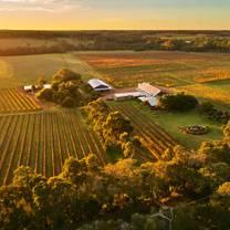 photo of cullen wines biodynamic wine room restaurant