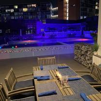 photo of germantown garden grill - poolside restaurant