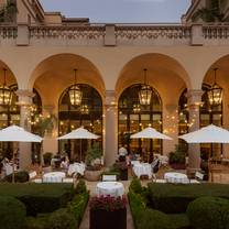 photo of the terrace at the maybourne beverly hills restaurant