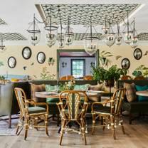 photo of the garden room at the mayflower inn & spa restaurant