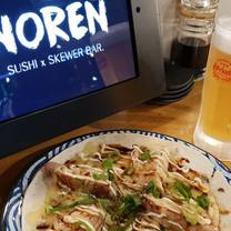 photo of noren sushi x skewer bar restaurant