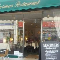 photo of mortimers restaurant