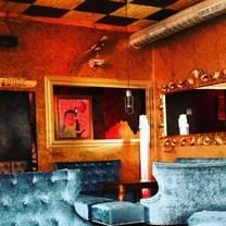 photo of minimal bar restaurant