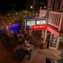 photo of blue moon over avila restaurant