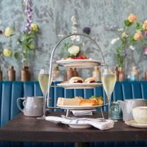 photo of afternoon tea at bryn williams at porth eirias restaurant