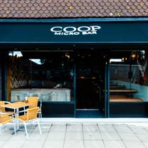 photo of coop micro bar restaurant