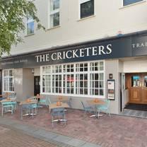 photo of the cricketers taunton restaurant
