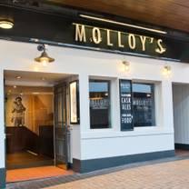 photo of molloys blackpool restaurant