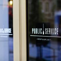 photo of public service restaurant