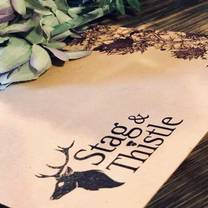 photo of stag & thistle restaurant