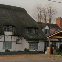 photo of the chequers at burcot restaurant