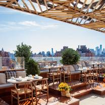 photo of gansevoort rooftop restaurant
