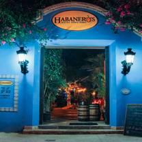 foto de restaurante habanero's gastro grill