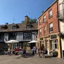 photo of the cross keys sherborne restaurant