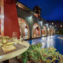 photo of hacienda kitchen at los suenos marriott restaurant