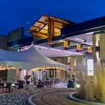photo of the patio at river cree resort & casino restaurant