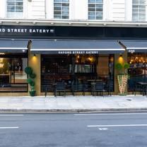 photo of oxford street eatery restaurant
