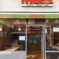 photo of maoz restaurant