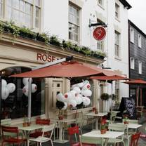 photo of rose & crown restaurant