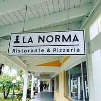 photo of la norma  ristorante& pizzeria restaurant