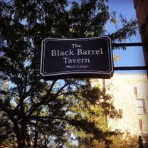 photo of the black barrel tavern restaurant