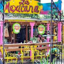 photo of la mexicana taco bar restaurant