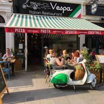 photo of vespa restaurant
