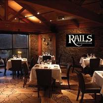 photo of rails steakhouse restaurant