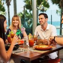 photo of the loft beach front restaurant