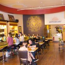 photo of apothecary restaurant at santa fe oxygen and healing bar restaurant