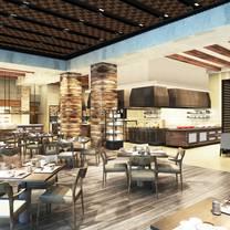 photo of goji kitchen & bar - marriott hotel clark restaurant
