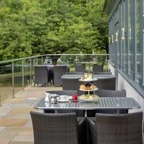photo of afternoon tea at keavil house restaurant