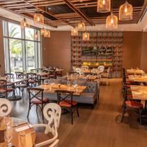 photo of table 55-hilton miami/dadeland restaurant