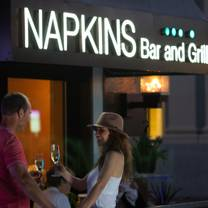 photo of napkins bar and grill restaurant