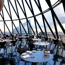 photo of helix restaurant at the gherkin restaurant