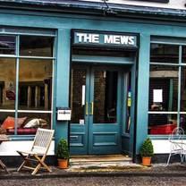 photo of the mews restaurant restaurant