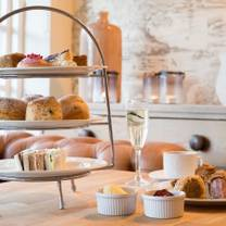 photo of afternoon tea at beaulieu hotel restaurant