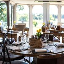 photo of the view restaurant at all saints hotel restaurant