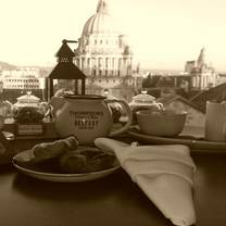 photo of afternoon tea at ten square hotel restaurant