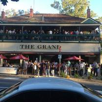 photo of the grand hotel warrandyte restaurant