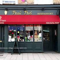photo of thai tho - wimbledon restaurant