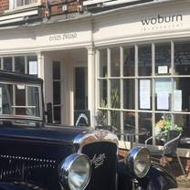 photo of woburn brasserie restaurant
