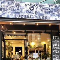 photo of pablo's escoburgers restaurant